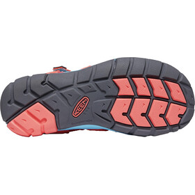 Keen Seacamp II CNX Sandals Kids coral/poppy red